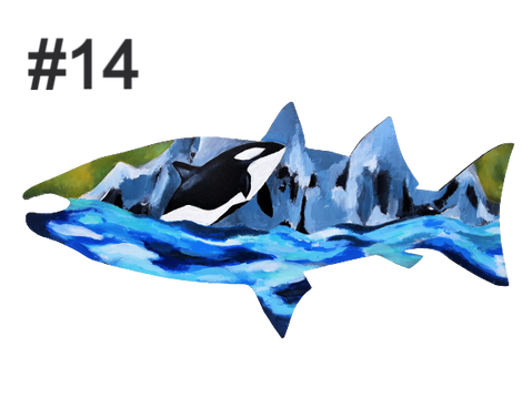 Fish #14 by Francesca Reside