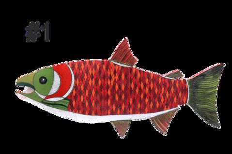 Fish #1 by Claudia Lohmann
