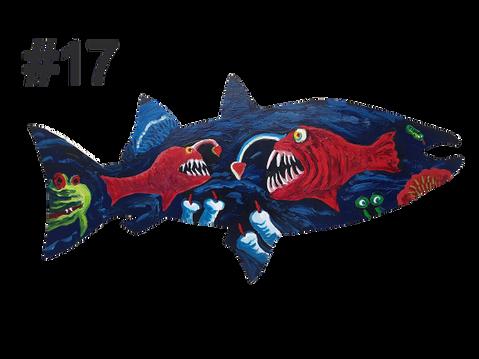 Fish #17 by Rod Corraini