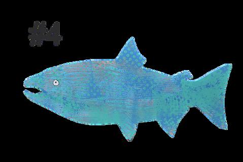 Fish # 4 by Luisa Meek Orr