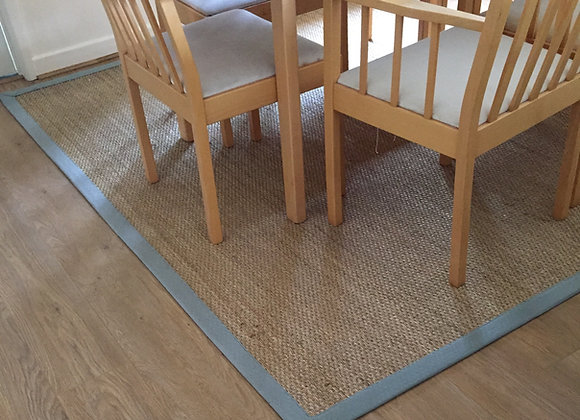 Seagrass Original Rug with Single Border