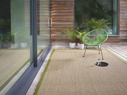 Seagrass Basketweave Natural Rug