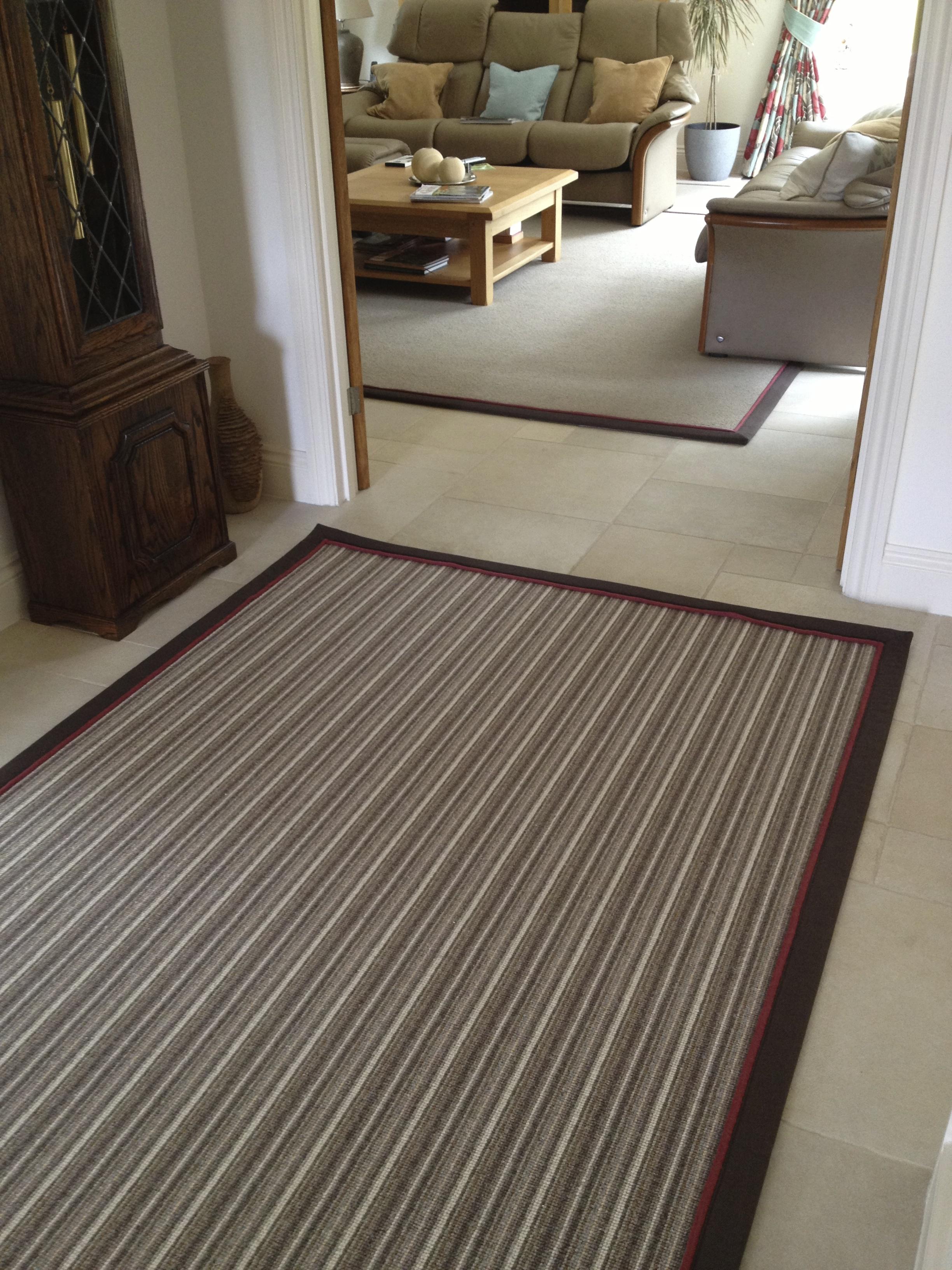 Wool Mississippi Stripe Natural Rug