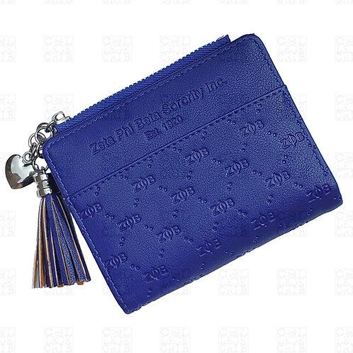 Zeta PU Leather Embossed Wallet