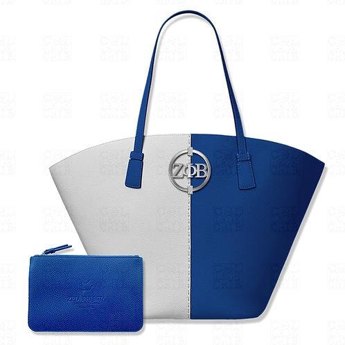 Zeta Color Block Shoulder Bag
