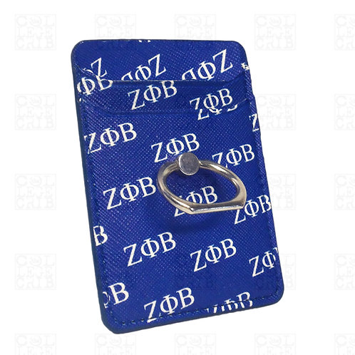 Zeta PU Leather Cell Phone Wallet Stand
