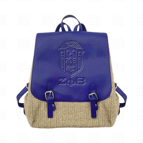 Zeta Woven Flapover Backpack
