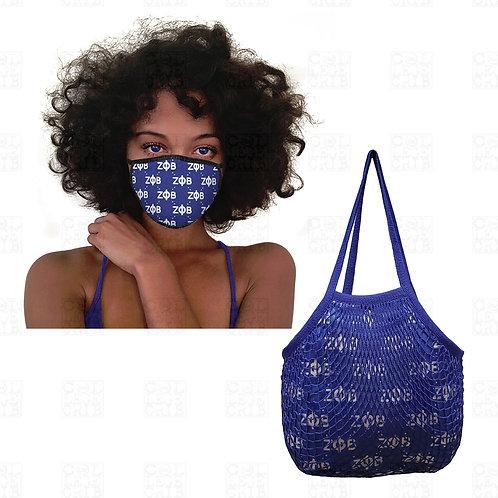 Zeta Mesh Bag and Mask SET