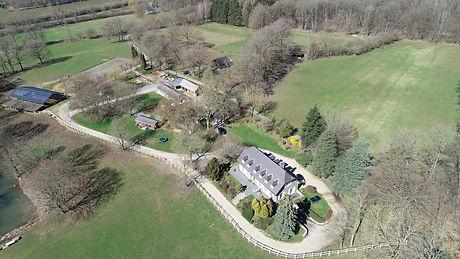 Domaine Jamotine vue du ciel Villa 5 Cha