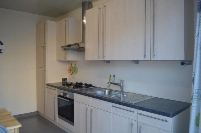 plan de cuisine équipé - appartement une