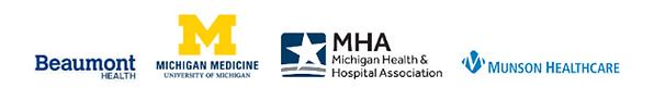 Mi HSOC Inaugural Participants - Beaumont Health, Michigan Medicine, Michigan Health and Hospital Association, Munson Healthcare