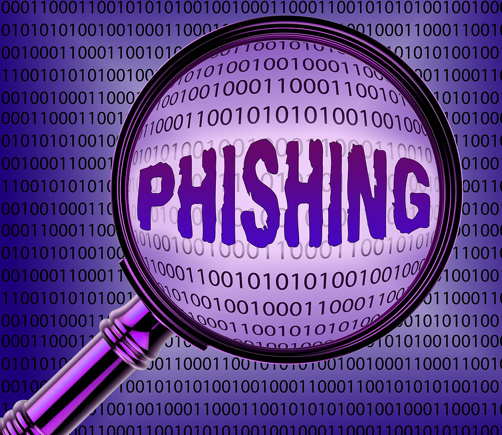 Phishing Magnifying Glass Visual