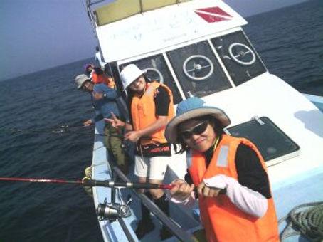 魚貫崎釣り体験