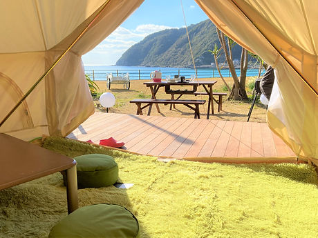 天草キャンプ手ぶらで楽しめるプランもあります。