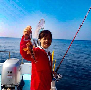 釣り体験 ガラカブ