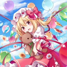 風船×花×テディベア×フラン