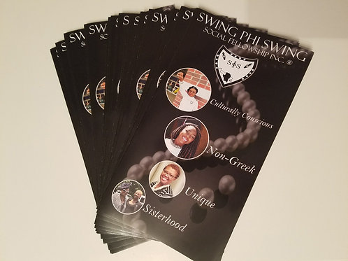 New Swing Brochures (25/Pk)