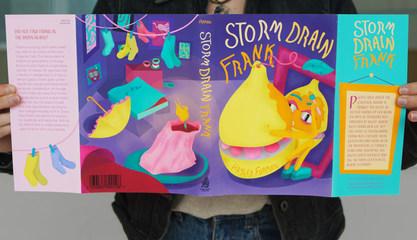 Storm Drain Frank - Book Illistration