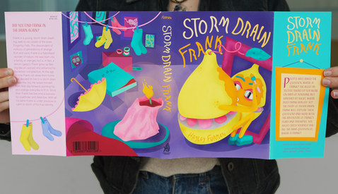 Storm Drain Frank - Book Illistration