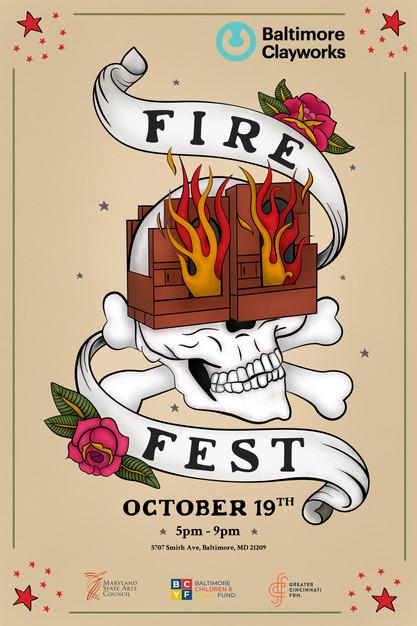 Fire Fest - Festival Branding
