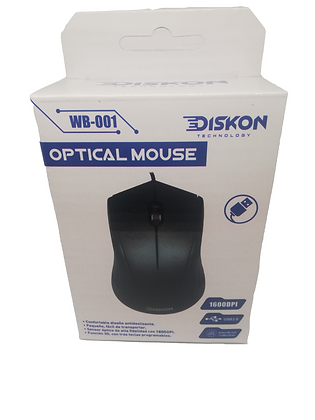 Mouse Optico Diskon Usb
