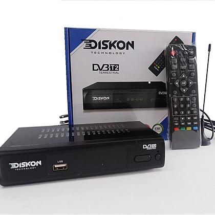 TDT Diskon decodificador, antena y control