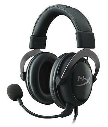 Audífonos gamer HyperX Cloud II black y gun metal Nuevo     99 vendidos Audífon