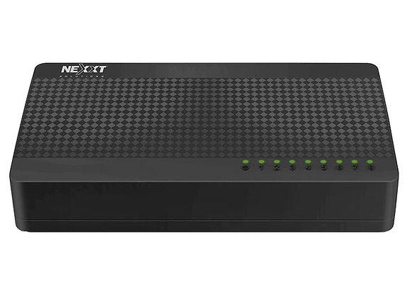 SWICHT NEXXT NAXOS800 8 PUERTOS 10/100 Mps