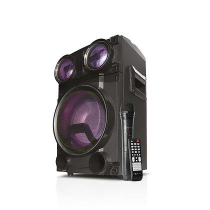 Cabina De Sonido Klip Xtreme Kls-640 Negro