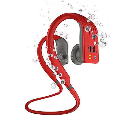Audífonos Inalámbricos Jbl Endurance Ipx7 Rojos