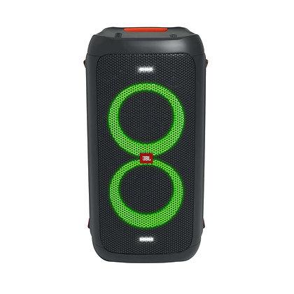 Parlante JBL PartyBox 100 portátil con bluetooth negra 100V/240V