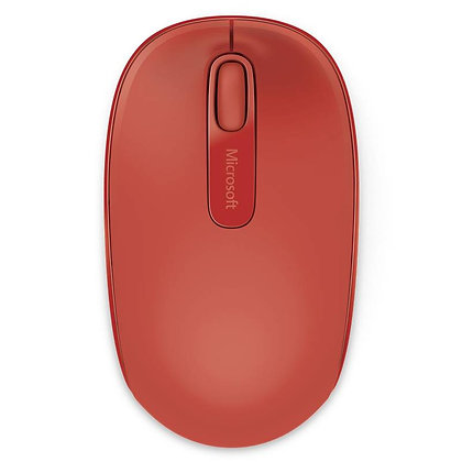 Mouse Microsoft 1850 Wireless Inalámbrico Rojo