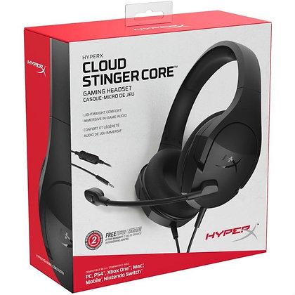 Audífonos gamer HyperX Cloud Stinger Core negro