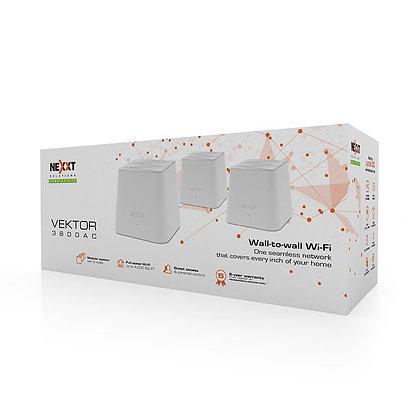 Sistema Inalambrico Mesh Nexxt Vektor 3600-AC