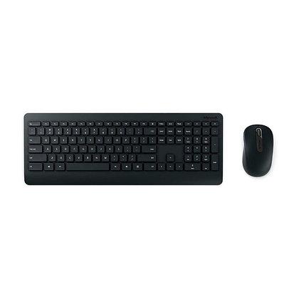 Combo Teclado Y Mouse Microsoft Wireless 900 Inalámbrico