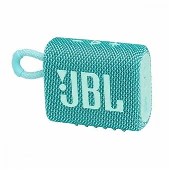 PARLANTE JBL GO3 TEAL INALÁMBRICO A PRUEBA DE AGUA