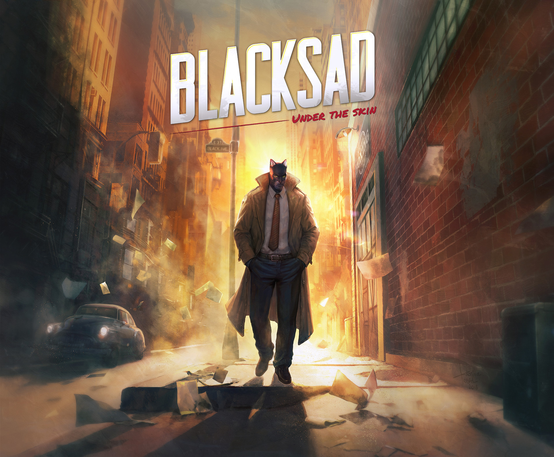 Key art Black sad