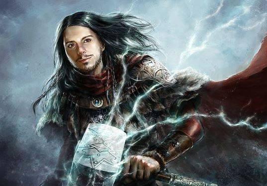Facebook - commande portrait + univers Thor