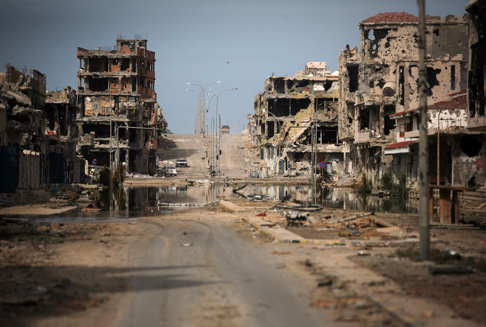 Libya after its liberation by NATO.