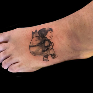 Children's Book Tattoo
