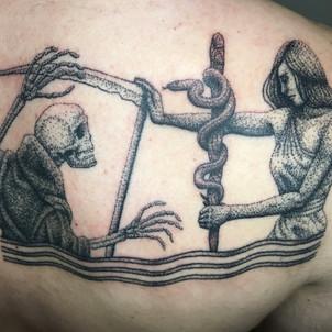 Defying Death Tattoo