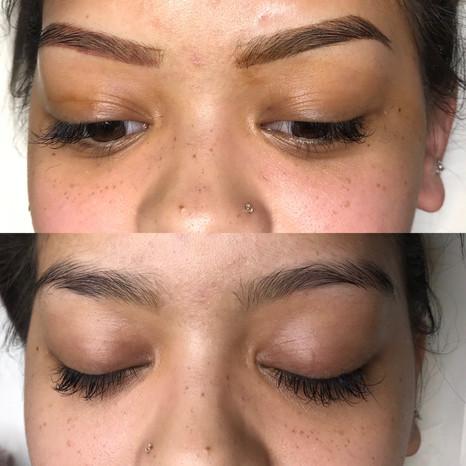 Cosmetic tattoo - eyebrows