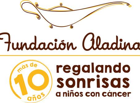 Hispania Carretillas y la Fundación Aladina.