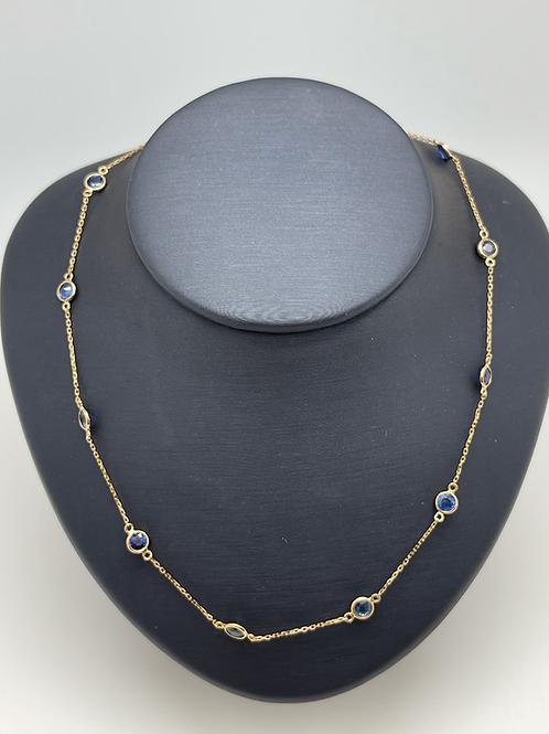 Tresor 18k Sapphire Necklace