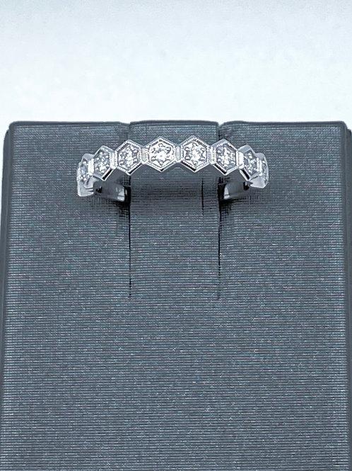 .21ctw 14k Stackable Diamond Band