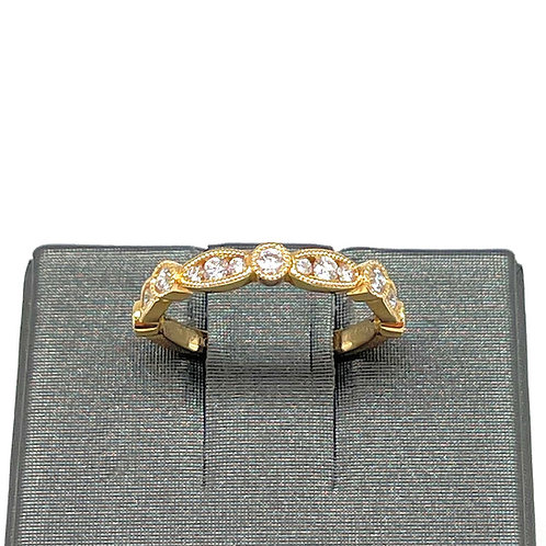.41ctw 18k Stackable Diamond Band