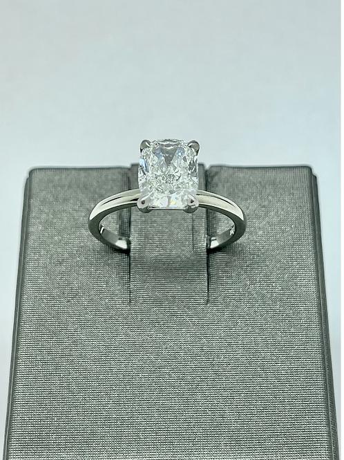 2.07ct Cushion Cut Diamond E/SI2