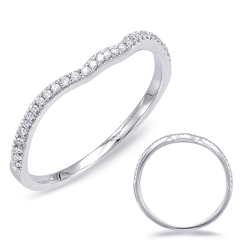14kt White Gold Band (Matches EN7734-1WG)