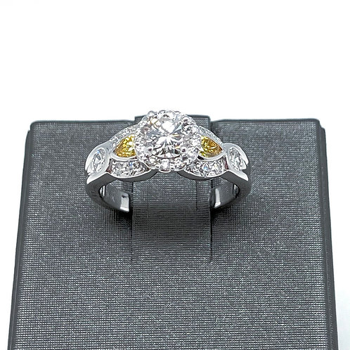 14k 1.50ctw Diamond Engagement Ring