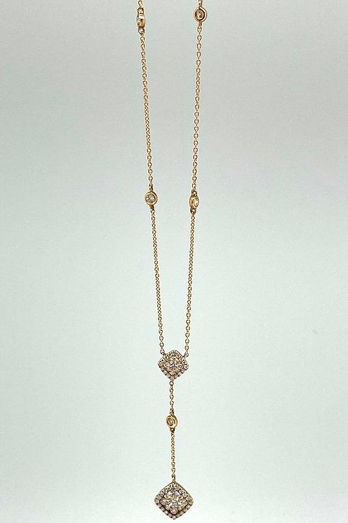 .43ctw 14k Diamond Necklace